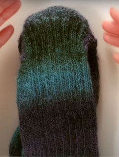 Sock Construction Knitting Video