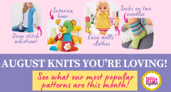 Our 15 Most Popular Knitting Patterns in August 2020
