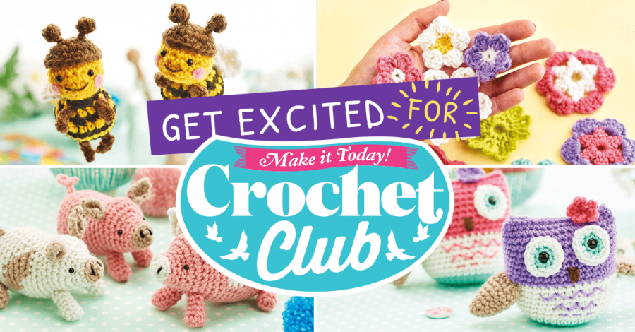 Get excited for Crochet Club!