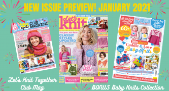 Exclusive Preview: Let's Knit issue 166 January 2021