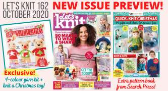 Exclusive Preview Let's Knit Magazine 162 October 2020