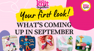 Sneak Peek! What's Happening on Let's Knit Together this September