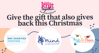 Do your bit for charity: Mind, NHS Charities Together and Knit For Peace