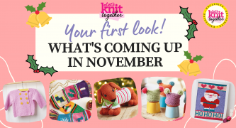 What's Happening At Let's Knit Together This November