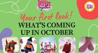 What's Happening on Let's Knit Together this October