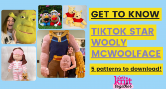 Wooly McWoolface: Meet the TikTok Knitting star + four patterns to download