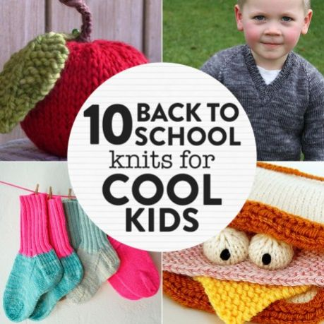 10 Back to School Knits for Cool Kids