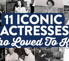 Amazing Photos Of 11 Iconic Actresses Who Loved To Knit