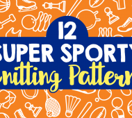 12 Knitting Patterns For Sports Fans