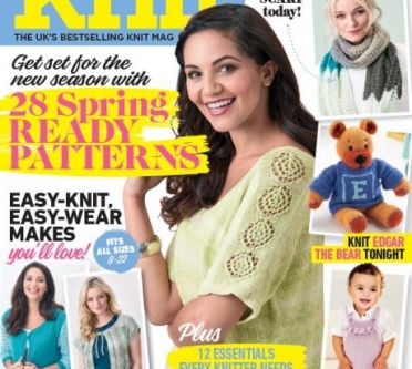 EXCLUSIVE PREVIEW! Let's Knit February, issue 128