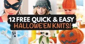 UPDATED: Free Quick & Easy Halloween Knits!