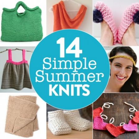 14 Simple Summer Knits