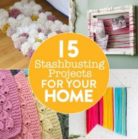 15 Stashbusting Projects For Your Home