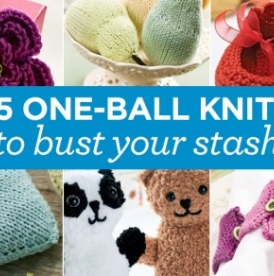 15 One Ball Knits