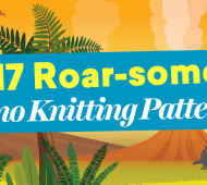 17 Roar-some Dino Knitting Patterns That Will Rock Your (Jurassic) World!