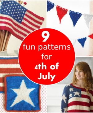 9 fun patterns for 4th of July