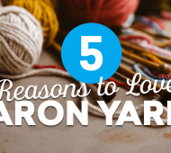 5 Reasons to Love Caron Yarns!