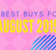 5 Best Buys For August 2019
