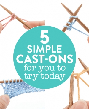 5 Simple Cast-Ons For You To Try Today