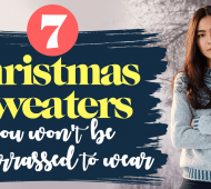 7 Christmas sweaters you won't be embarrassed to wear