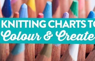 7 Knitting Charts To Colour & Create!