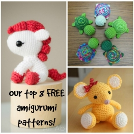 Our top 8 FREE amigurumi patterns