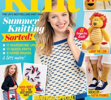 Let's Knit August issue! Exclusive preview!