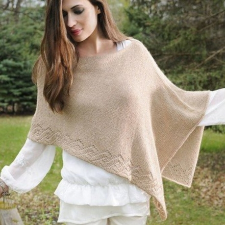 Knitted capelets