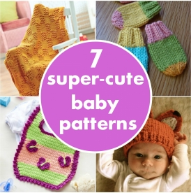 7 super-cute baby patterns