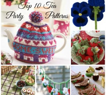 Top 10 Tea Party Patterns for Afternoon Tea Week!