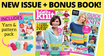 Exclusive Preview: Let's Knit Issue 152 December 2019