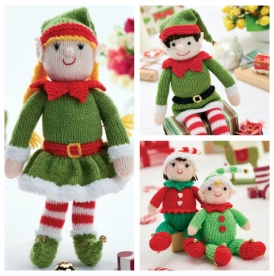 Knit Your Own Elf Family