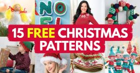 15 FREE Christmas Patterns You Should Be Starting Right Now
