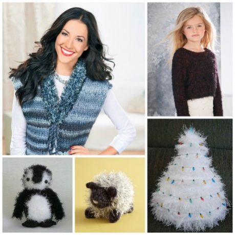 Five Ways with Furry Yarns