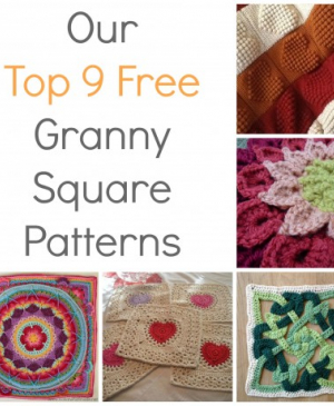 Our Top 9 Free Granny Square Patterns