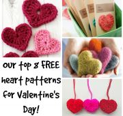 Our Top 8 FREE Heart Patterns