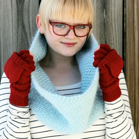 Heidi Gustad: I thought I'd never knit again