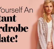 Knit Yourself An Instant Wardrobe Update