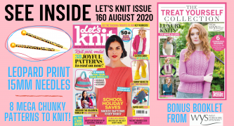 Let's Knit Issue 160 Sneak Preview!