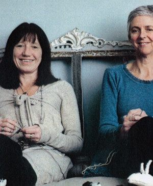 Interview: Knit Your Own Pet authors Sally Muir and Joanna Osborne