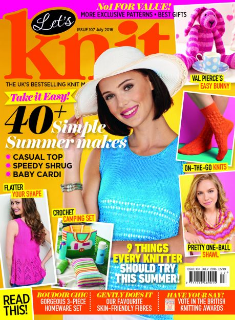 Let's Knit July issue! Exclusive preview!
