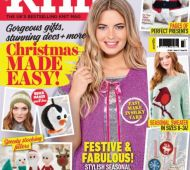 EXCLUSIVE PREVIEW! Let's Knit Christmas Special, issue 124