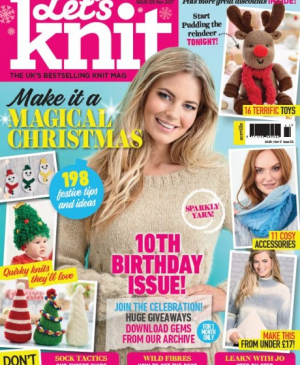 EXCLUSIVE PREVIEW! Let's Knit November, issue 125