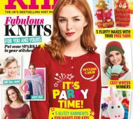 EXCLUSIVE PREVIEW! Let's Knit December, issue 126