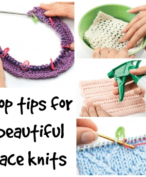 Let's Knit Masterclass: Top tips for perfect lace