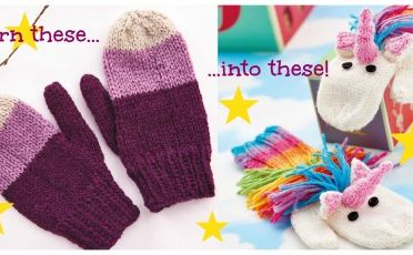 Make Our Unicorn Mitts In Adult Size!