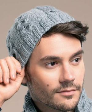 Made for men: what to knit this Valentine's Day