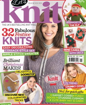 November issue of Let's Knit: out now!