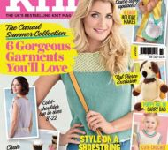 EXCLUSIVE PREVIEW! Let's Knit July, issue 120