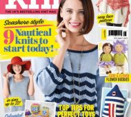EXCLUSIVE PREVIEW! Let's Knit August, issue 121